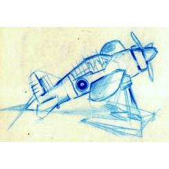Avion en maquette