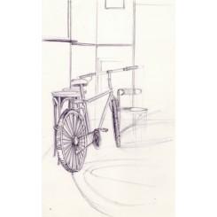 Croquis d'un vélo